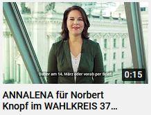 Wahlwerbung von Annalena Baerbock