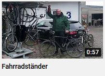So funktioniert ein platzsparender Fahrradständer