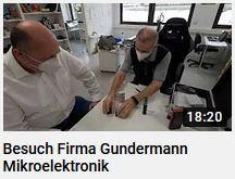 Besuch Firma Gundermann Mikroelektronik